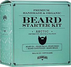 Kup Zestaw - Golden Beards Starter Beard Kit Arctic (balm 60 ml + oil 30 ml + shmp 100 ml + cond 100 ml + brush)