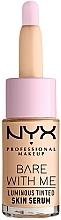 Kup Rozświetlające serum do twarzy - NYX Professional Makeup Bare With Me Luminous Tinted Skin Serum