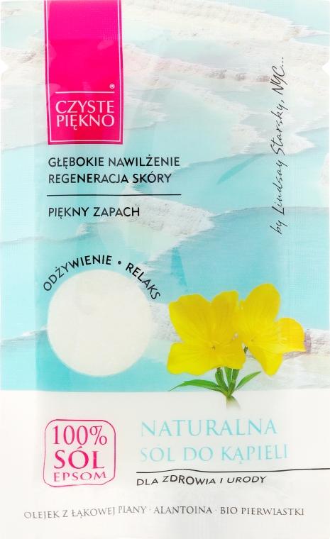 Sól do kąpieli z olejem z łąkowej piany - Czyste Piękno — фото N1