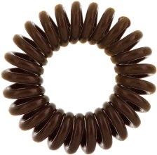 Gumki do włosów, 3 szt. - Invisibobble Original Pretzel Brown — фото N2
