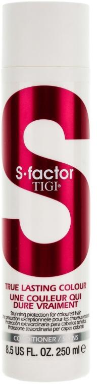 Odżywka do włosów farbowanych - Tigi True Lasting Colour Conditioner — фото N1