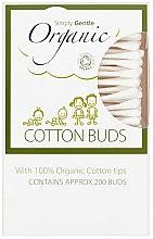 Organiczne patyczki kosmetyczne - Simply Gentle Organic Cotton Buds — фото N2
