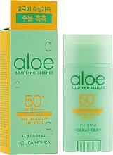 Kup Lekki sztyft ochronny do twarzy SPF 50+/PA++++ - Holika Holika Aloe Soothing Essence Water Drop Sun Stick