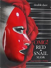 Kup Głęboko nawilżająca maseczka ujędrniająca w płachcie do twarzy - Double Dare OMG! Red + Snail Mask