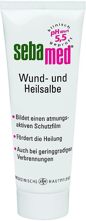 Maść wspomagająca gojenie się ran - Sebamed Wund- und Heilsalbe — фото N1