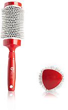 Kup PRZECENA! Szczotka termiczna do włosów, 33 mm - Upgrade Triangular Concave Thermal Brush Red Angle *