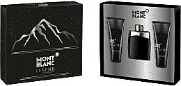 Kup Montblanc Legend - Zestaw (edt/100ml + ash/balm/100ml + sh/gel/100ml)