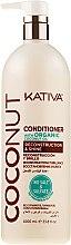Kup Regenerująca odżywka nabłyszczająca do włosów Kokos - Kativa Coconut Reconstruction & Shine Conditioner