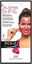 Kup Maska-peeling do twarzy - Iroha Nature Peel Off Pink Sapphire Pore Minimizer