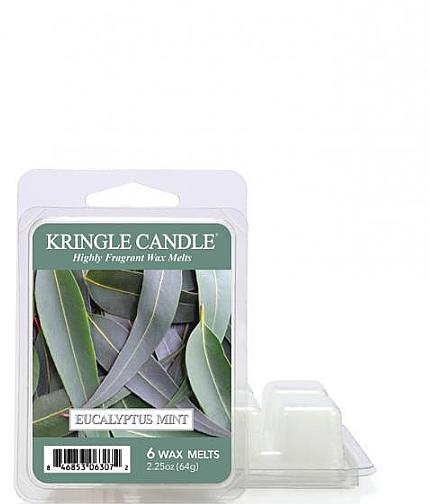 Wosk aromatyczny - Kringle Candle Eucalyptus Mint Wax Melt — фото N1