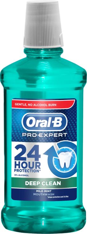 Płyn do płukania jamy ustnej - Oral-B Pro-Expert Deep Clean
