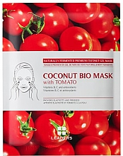 Kup Przeciwstarzeniowa maska do twarzy z galaretką kokosową i ekstraktem z pomidora - Leaders Coconut Bio Tomato Mask