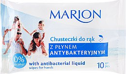 Kup Chusteczki antybakteryjne, 10 szt. - Marion