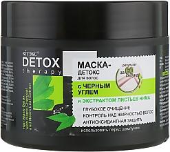 Kup Detoksykująca maska do włosów z czarnym węglem drzewnym i ekstraktem z liści neem - Vitex Detox Therapy