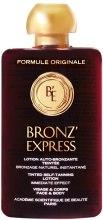 Kup Samoopalacz w płynie do twarzy i ciała - Académie Bronz'Express Lotion