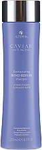 Kup PRZECENA! Odbudowujący szampon do włosów zniszczonych - Alterna Caviar Anti-Aging Restructuring Bond Repair Shampoo *