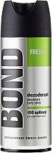Kup Dezodorant w sprayu dla mężczyzn - Bond Fresh Deo Spray