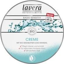 Kup Krem pielęgnacyjny z masłem shea i olejem ze słodkich migdałów - Lavera Naturkosmetik Basis Sensitiv Creme