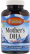 Kup Suplement diety z kwasem DHA dla matek karmiących, 500mg - Carlson Labs Mother's DHA