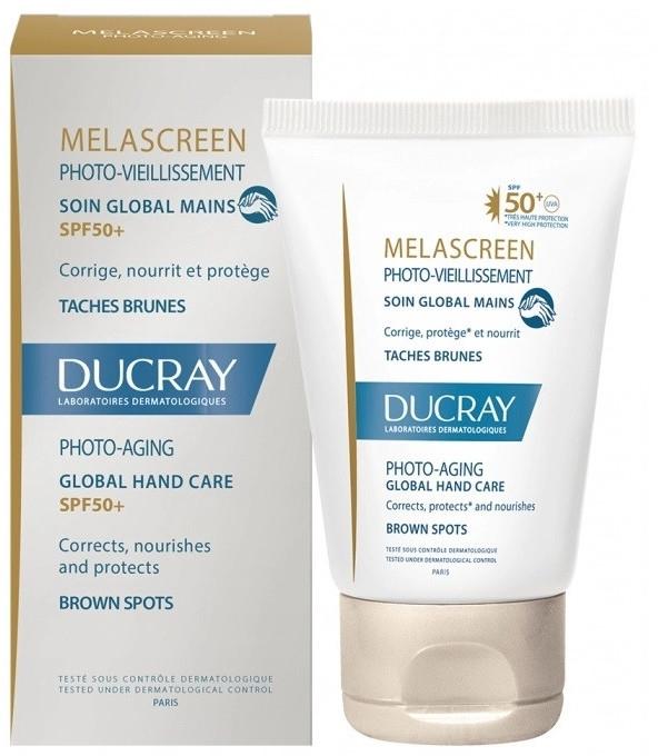 Przeciwpigmentacyjny preparat do skóry rąk - Ducray Melascreen Global Hand Care SPF 50+ — фото N1