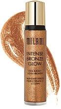 Kup Bronzer w płynie do ciała - Milani Intense Bronze Glow Face & Body Liquid Bronzer