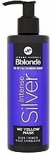 Kup Maska do włosów blond, siwych i rozjaśnianych - Jerome Russell Bblonde Intense Silver No Yellow Mask