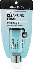 Kup Oczyszczająca pianka do mycia twarzy - Alice Koco Clear Cleansing Foam