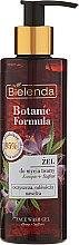 Nawilżający żel do mycia twarzy Konopie + szafran - Bielenda Botanic Formula — фото N1