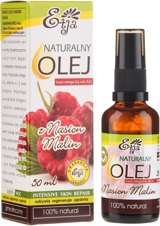 Naturalny olej z nasion malin - Etja
