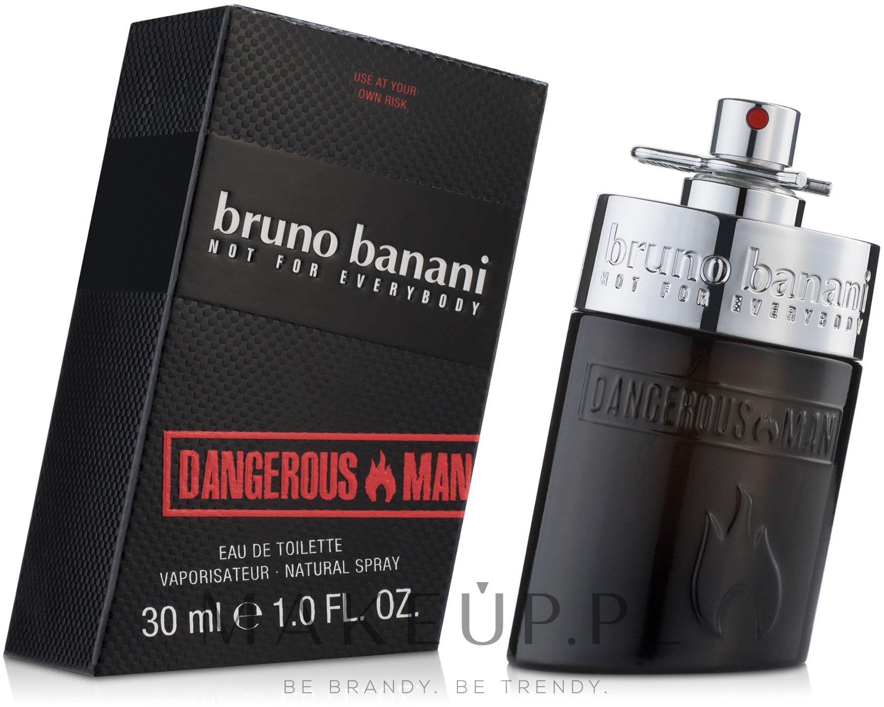 Bruno Banani Dangerous Man - Woda toaletowa — фото 30 ml