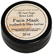 Kup Oczyszczająca maska do twarzy zwężająca pory - The Secret Soap Store Shea Line Mudbath & Shea Butter Mask