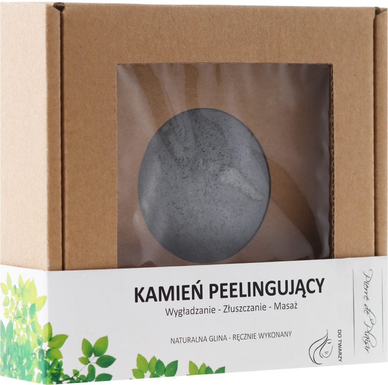 Naturalny kamień peelingujący - Pierre de Plaisir Natural Scrubbing Stone Face  — фото N1