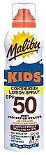 Kup Przeciwsłoneczny wodoodporny balsam w sprayu dla dzieci SPF 50 - Malibu Sun Kids Continuous Lotion Spray
