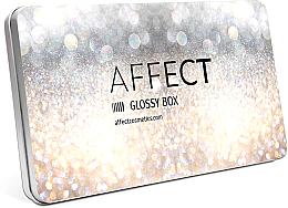 Kup Aluminiowa kasetka na kosmetyki do makijażu - Affect Cosmetics Glossy Box Mini Aluminium Palette