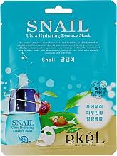Kup Maska na tkaninie do twarzy z ekstraktem z mucyny ślimaka - Ekel Snail Hydrating Essence Mask