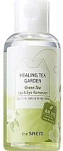 Kup Kojący płyn do demakijażu oczu i ust z ekstraktem z zielonej herbaty - The Saem Healing Tea Garden Green Tea Lip & Eye Remover