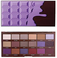Kup Paleta cieni do powiek, 18 odcieni - I Heart Revolution Eyeshadow Palette Violet Chocolate