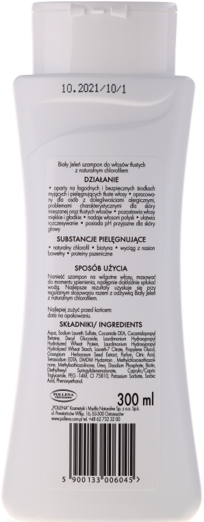 Hipoalergiczny płyn do kąpieli Naturalny chlorofil - Biały Jeleń — фото N5