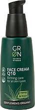 Kup Krem do twarzy - GRN Gentlemen's Organic Q10 Hemp & Hop Face Cream