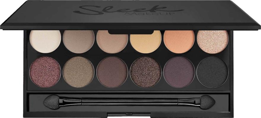 Paleta cieni do powiek - Sleek MakeUP i-Divine Mineral Based Eyeshadow Palette Au Naturel