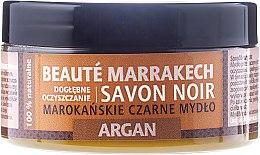Kup Naturalne marokańskie czarne mydło Argania - Beauté Marrakech Savon Noir Moroccan Black Soap Argan