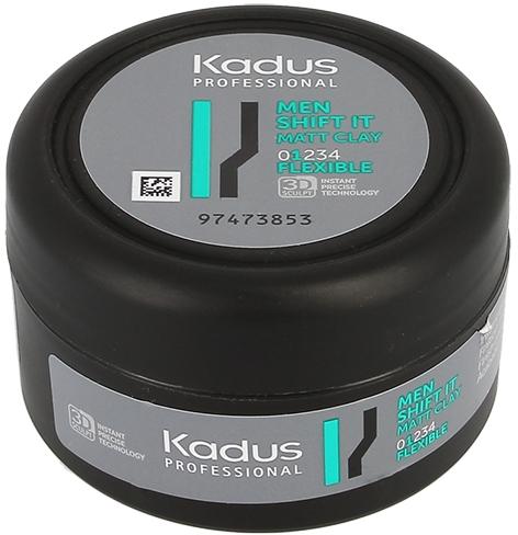 Matująca glinka do stylizacji włosów, lekkie utrwalenie - Kadus Professional Men Shift It Matt Clay — фото N2
