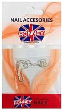 Kup Łańcuszek do zdobienia paznokci, 00376, srebrny - Ronney Professional