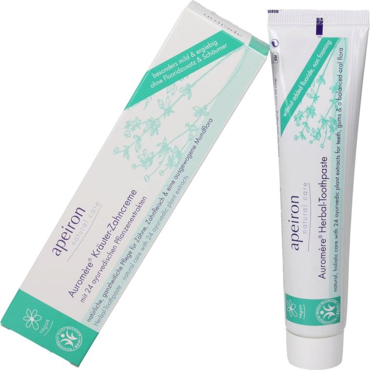 Pasta do zębów 24 ziołowe ekstrakty - Apeiron Auromère Herbal Toothpaste — фото N1