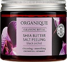 Kup Peeling solny do ciała z masłem shea Czarna Orchidea - Organique Cleansing Ritual Shea Butter Salt Peeling Black Orchid