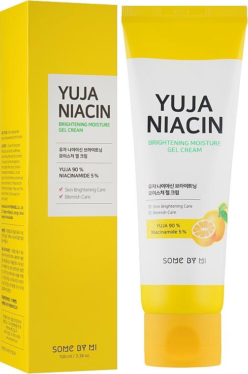 Rozjaśniający krem do twarzy - Some By Mi Brightening Moisture Gel Cream — фото N1