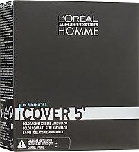 Kup Koloryzujący żel do włosów dla mężczyzn - L'Oréal Professionnel Cover 5