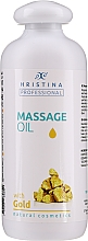 Kup Olejek do masażu ze złotem - Hristina Professional Gold Massage Oil