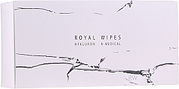 Kup PRZECENA! Nawilżające i pielęgnacyjne chusteczki do twarzy - N-Medical Hyaluron Royal Wipes *