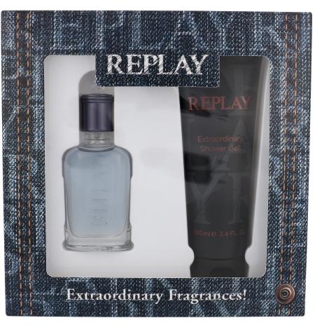 Replay Jeans Spirit! For Him - Zestaw (edt 30 ml + sh/gel 100 ml) — фото N1